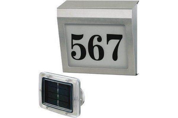 Brennenstuhl huisnummerverlichting met extern zonnepaneel
