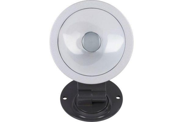 Powerplus POWLI23129 LED Ronde Schijnwerper - 360° draaibaar - Voor binnen en buiten - 10 Watt